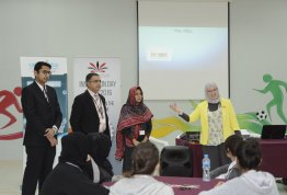 Scientific workshop about the basic concepts of engineering in Liwa International School