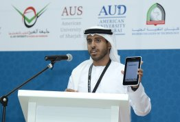 Al Ain University participates in the 10th IEEE UAE Student Day