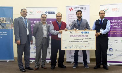 Al Ain University conclude the 16th Mediterranean Microwave Symposium (MMS2016)