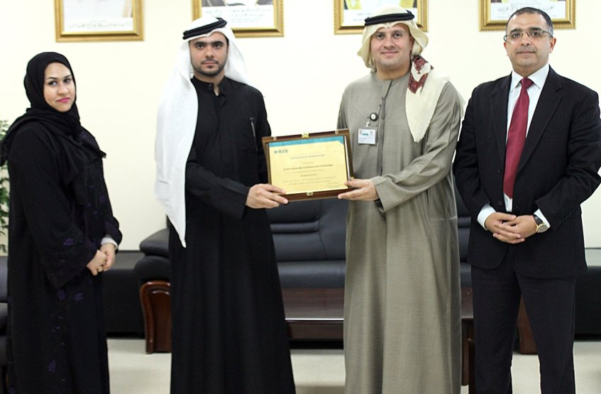 A Delegation from IEEE UAE Section visits AAU