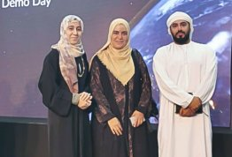 Student's visit to the UAE Space Agency