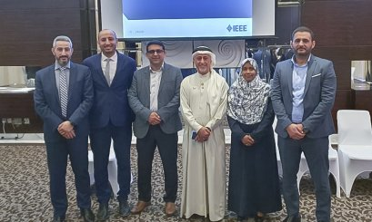 College of Engineering attends the IEEE UAE Annual Meeting